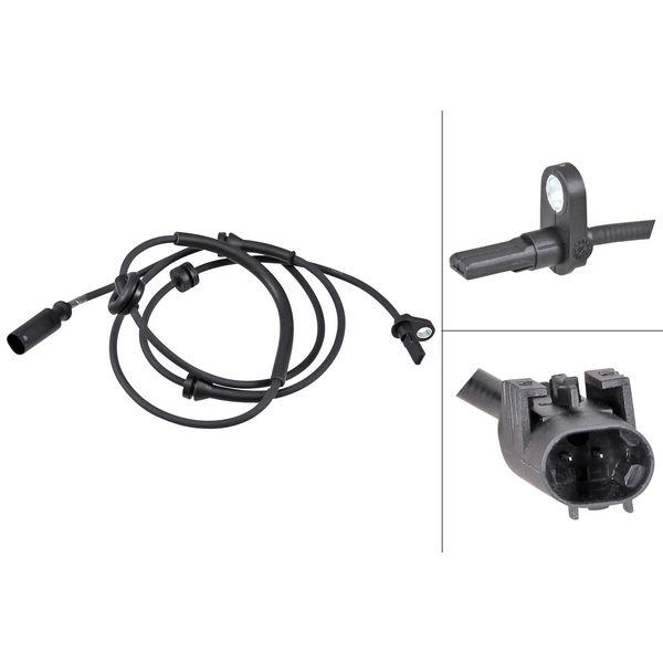 ABS-sensor achterzijde, links of rechts ALFA ROMEO 156 Sportwagon 1.6 16V T.SPARK.