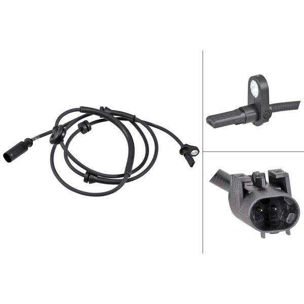ABS-sensor achterzijde, links of rechts ALFA ROMEO 156 Sportwagon 1.8 16V T.SPARK
