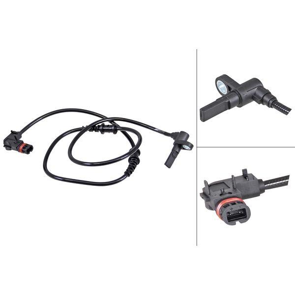 ABS-sensor voorzijde, links of rechts MERCEDES-BENZ VITO / MIXTO Bestelwagen (W639) 123