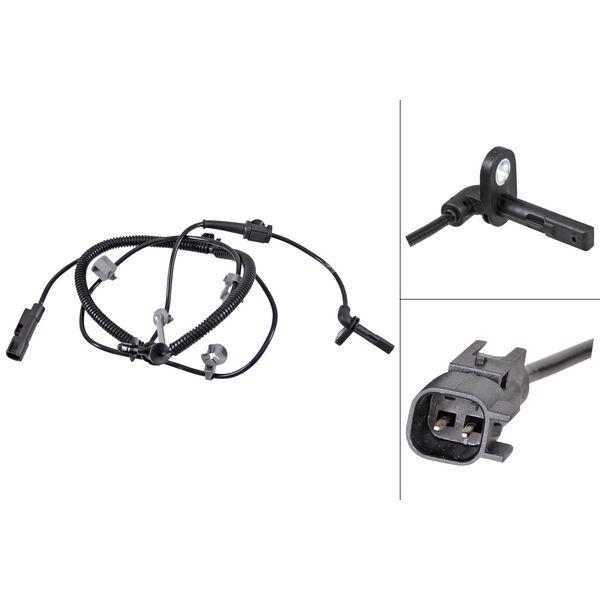 ABS-sensor achterzijde, links of rechts OPEL INSIGNIA A Sedan 1.6