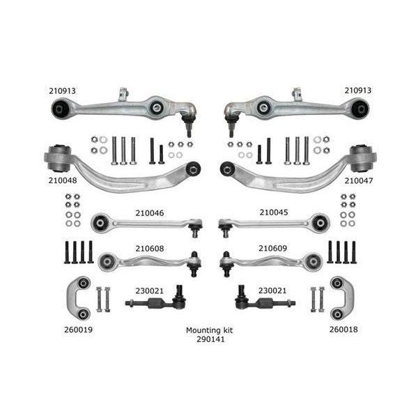 Reparatieset, wieldraagarm voorzijde AUDI A4 B6 Cabriolet 2.4