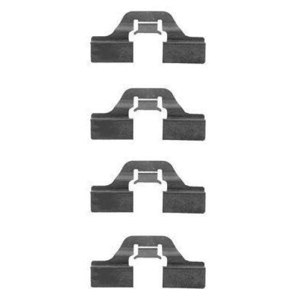 Remblok-montageset achterzijde AUDI A3 S3 quattro