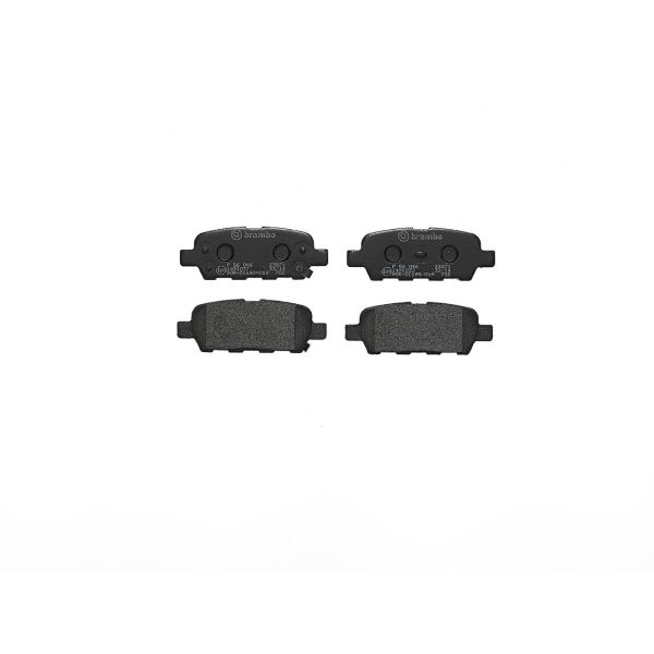 Remblokkenset achterzijde Brembo premium