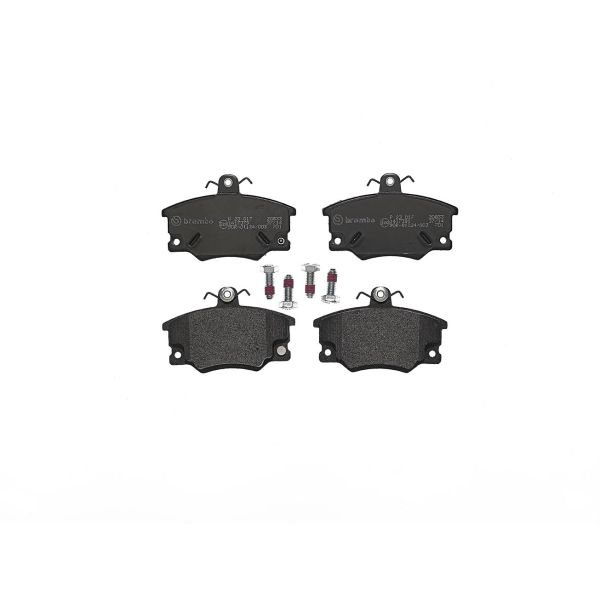 Remblokkenset voorzijde Brembo premium LANCIA Y10 1.1 Fire Vierwielaandrijving