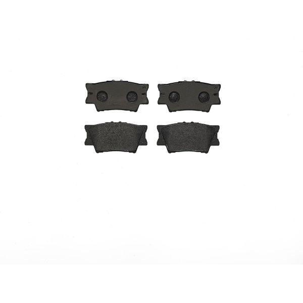 Remblokkenset achterzijde Brembo premium LEXUS ES 350