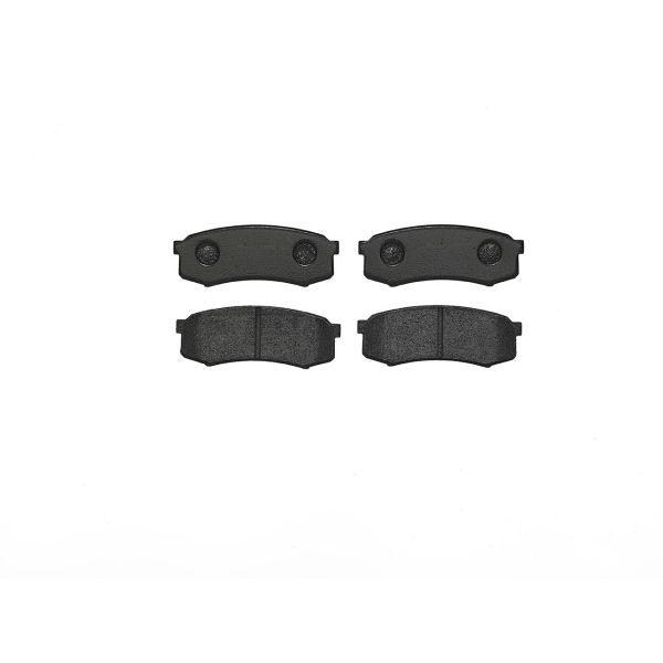 Remblokkenset achterzijde Brembo premium LEXUS GX 470
