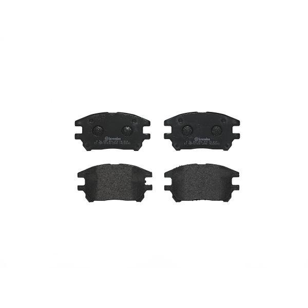 Remblokkenset voorzijde Brembo premium LEXUS RX 300