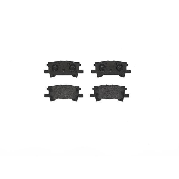 Remblokkenset achterzijde Brembo premium LEXUS RX 400h