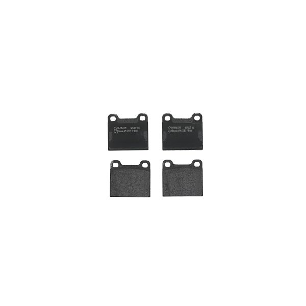 Remblokkenset achterzijde Brembo premium MASERATI GHIBLI II 2.0