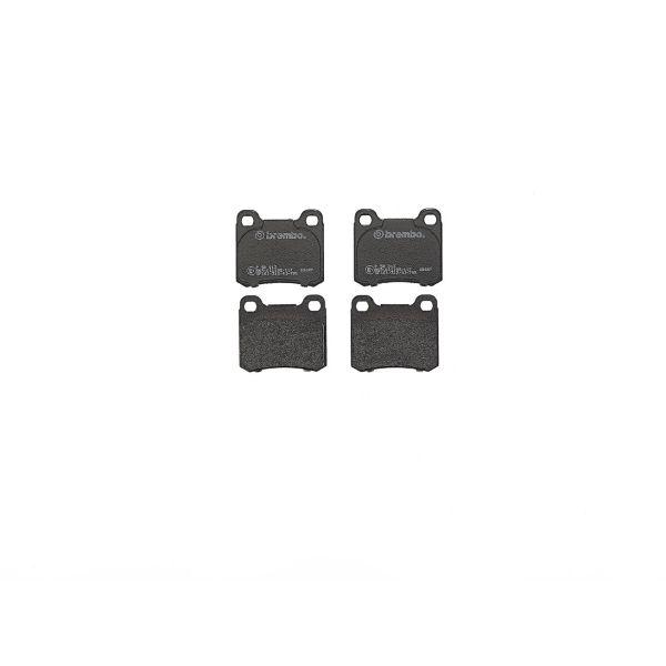 Remblokkenset achterzijde Brembo premium MERCEDES-BENZ 190 (W201) E 2.3-16