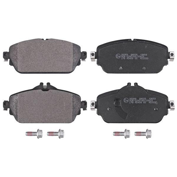 Remblokkenset voorzijde origineel kwaliteit MERCEDES-BENZ C-KLASSE Cabriolet (A205) C 200 4-matic