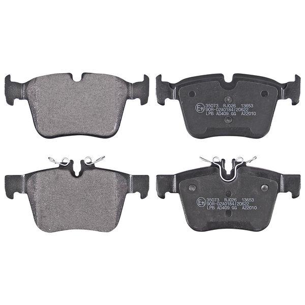 Remblokkenset achterzijde origineel kwaliteit MERCEDES-BENZ C-KLASSE Cabriolet (A205) C 200 4-matic