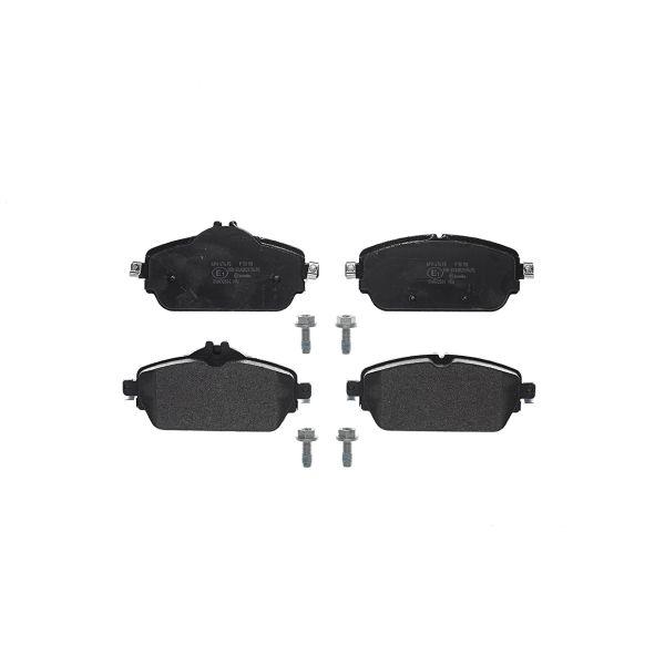 Remblokkenset voorzijde Brembo premium MERCEDES-BENZ C-KLASSE Cabriolet (A205) C 200 4-matic
