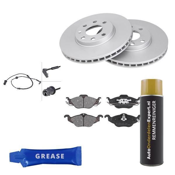 Voordeelpakket remschijven & remblokken voorzijde OPEL ASTRA G Hatchback 1.6 16V