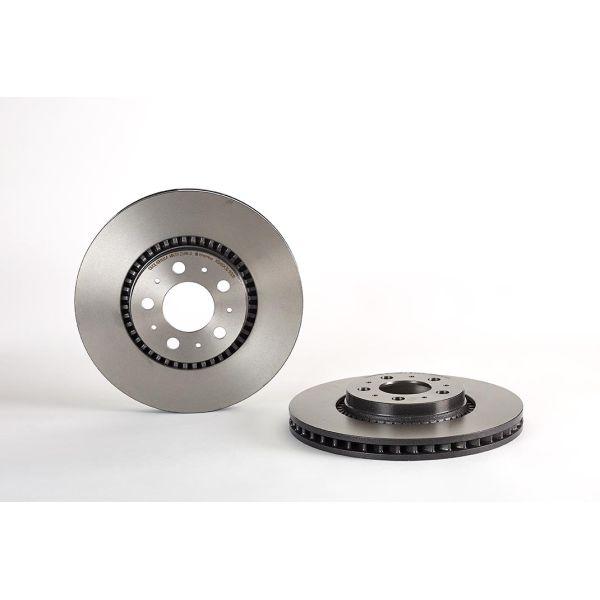 Remschijf voorzijde Brembo premium VOLVO V70 II 2.4 T5
