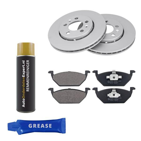 Voordeelpakket remschijven & remblokken voorzijde VW VOLKSWAGEN POLO (6R1, 6C1) 1.2 TDI