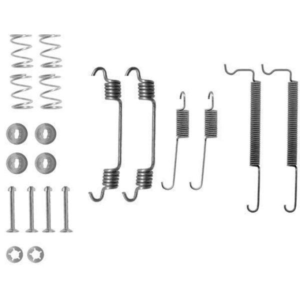 Remschoen -montageset achterzijde OPEL CORSA C 1.2