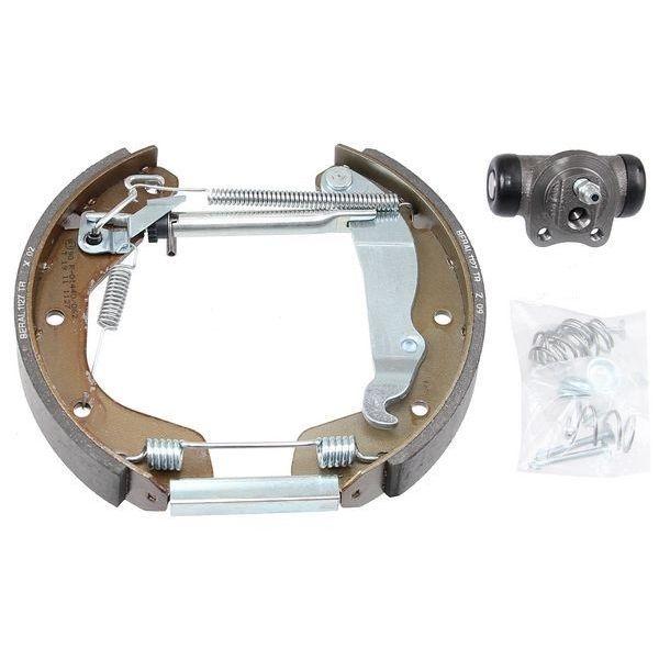 Remschoenset achterzijde inclusief wielremcilinders OPEL CORSA C 1.2